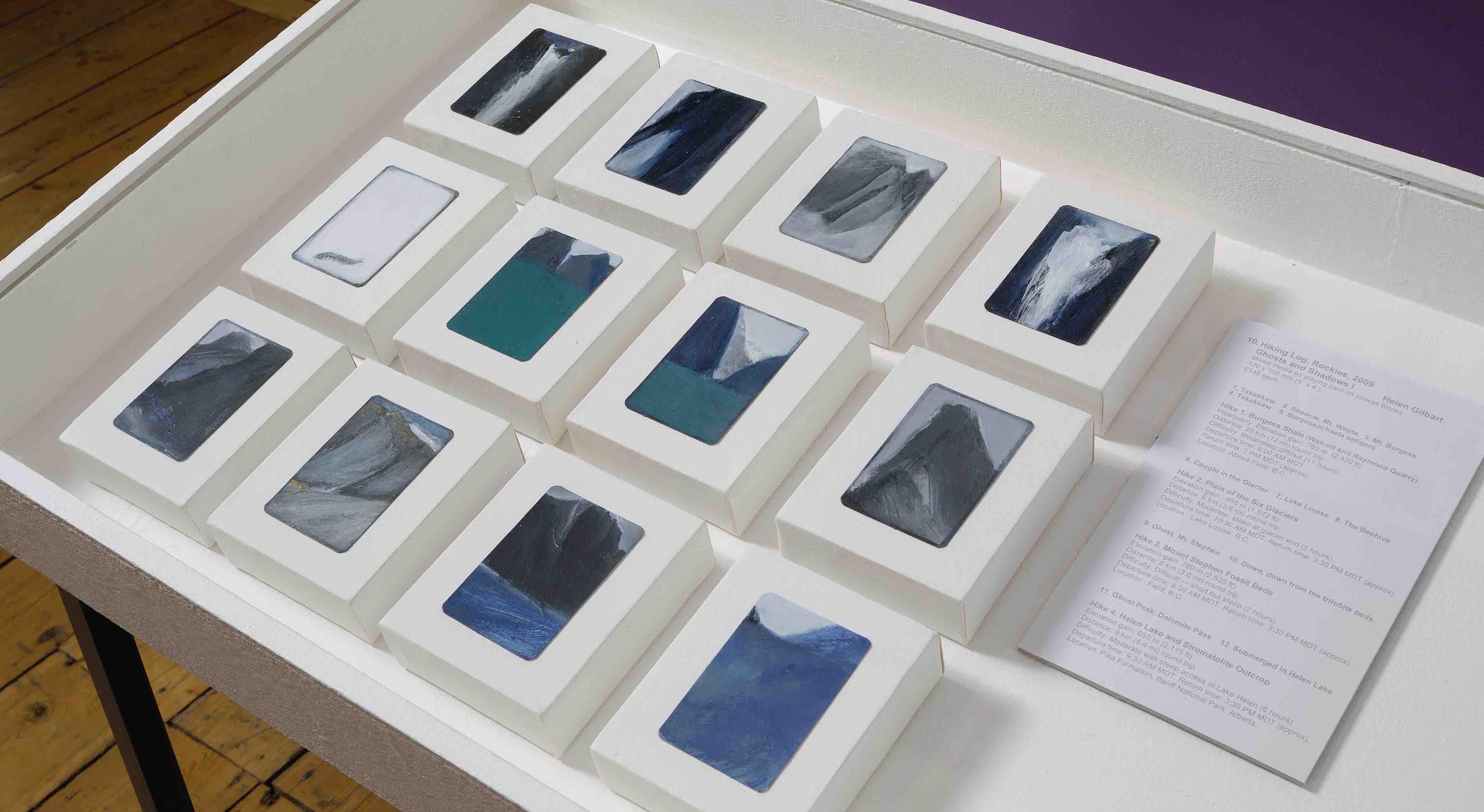HIKING LOG, ROCKIES - Helen Gilbart   UK based Visual Artist