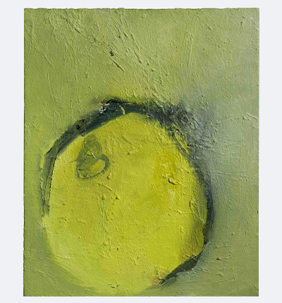 "Fruit, 1999. Oil on canvas, 560 x 460mms (22 x 18"")"